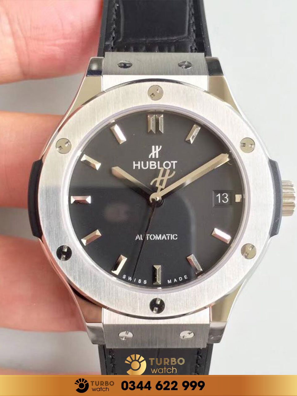HUBLOT CLASSIC FUSION 38MM BLACK DIAL fake 1-1 replica 1-1 cao cấp