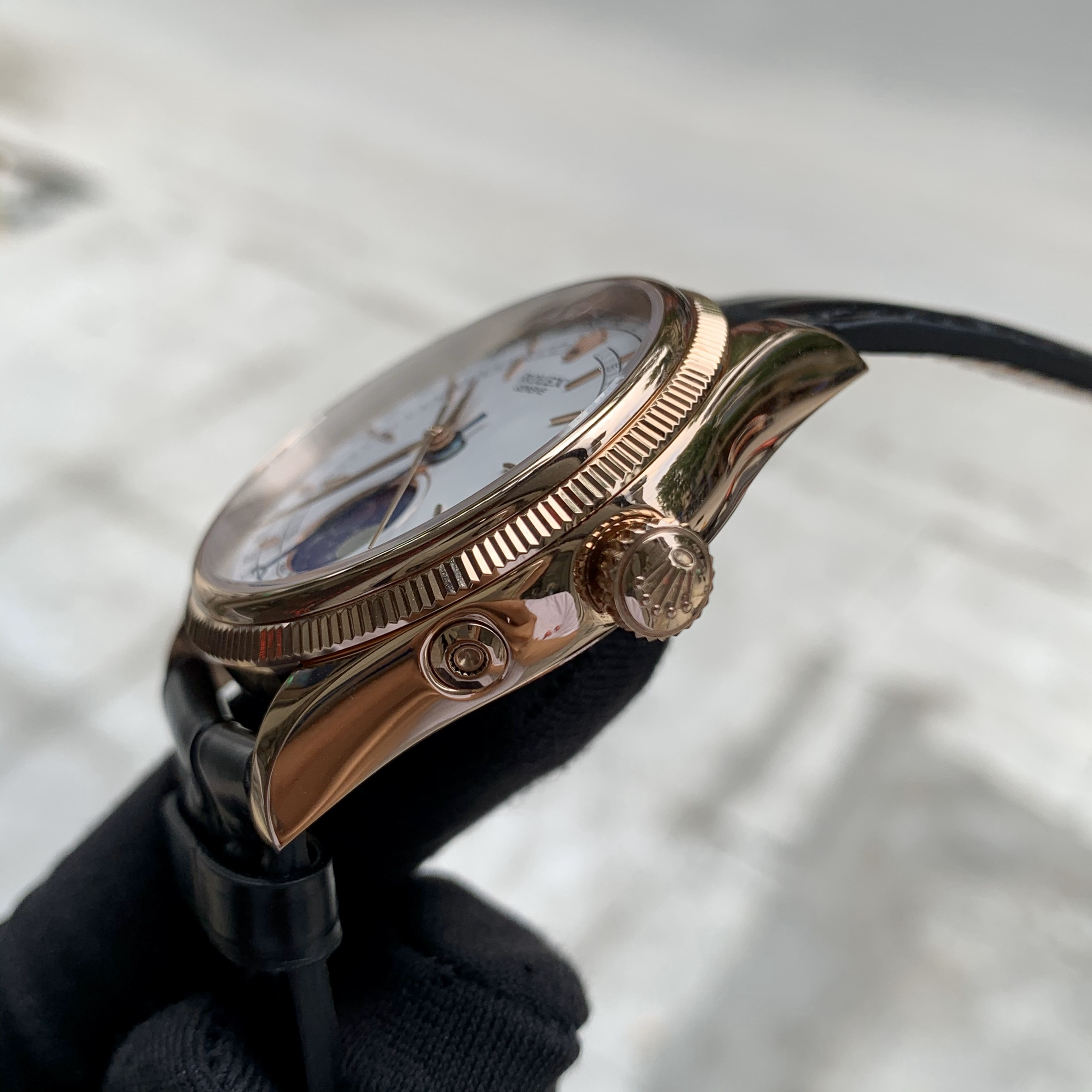 Đồng hồ Rolex Fake 1-1 Cellini Moonphase 50535