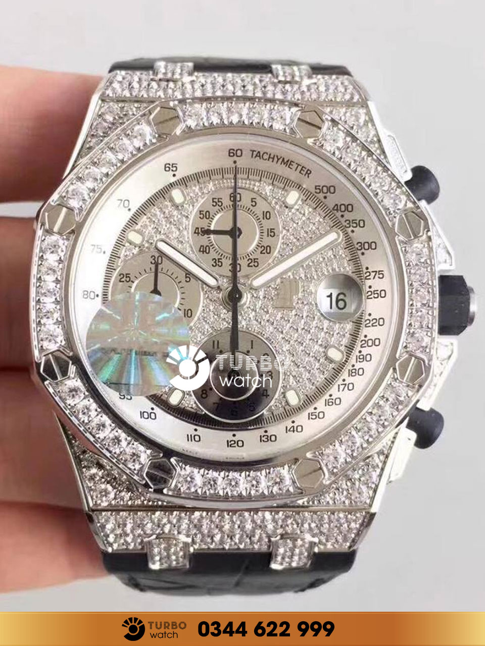 Audemars Piguet Royal Oak Offshore Chronograph Full Diamond