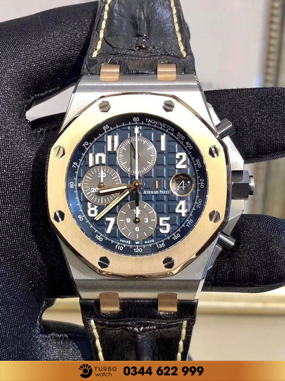 Audemas piguet Royal Oak offshore chronograph fake 1-1 siêu cấp