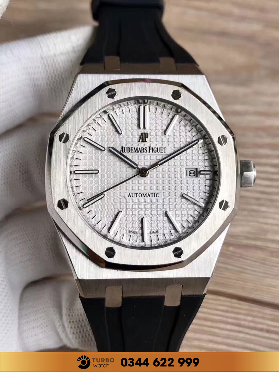 Audemas piguet Royal Oak  15500ST  replica 1-1 cao cấp