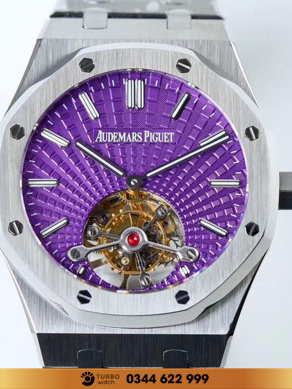 Audemas piguet  Royal Oak Tourbillon Extra-Thin  purple face replica 1-1 cao cấp
