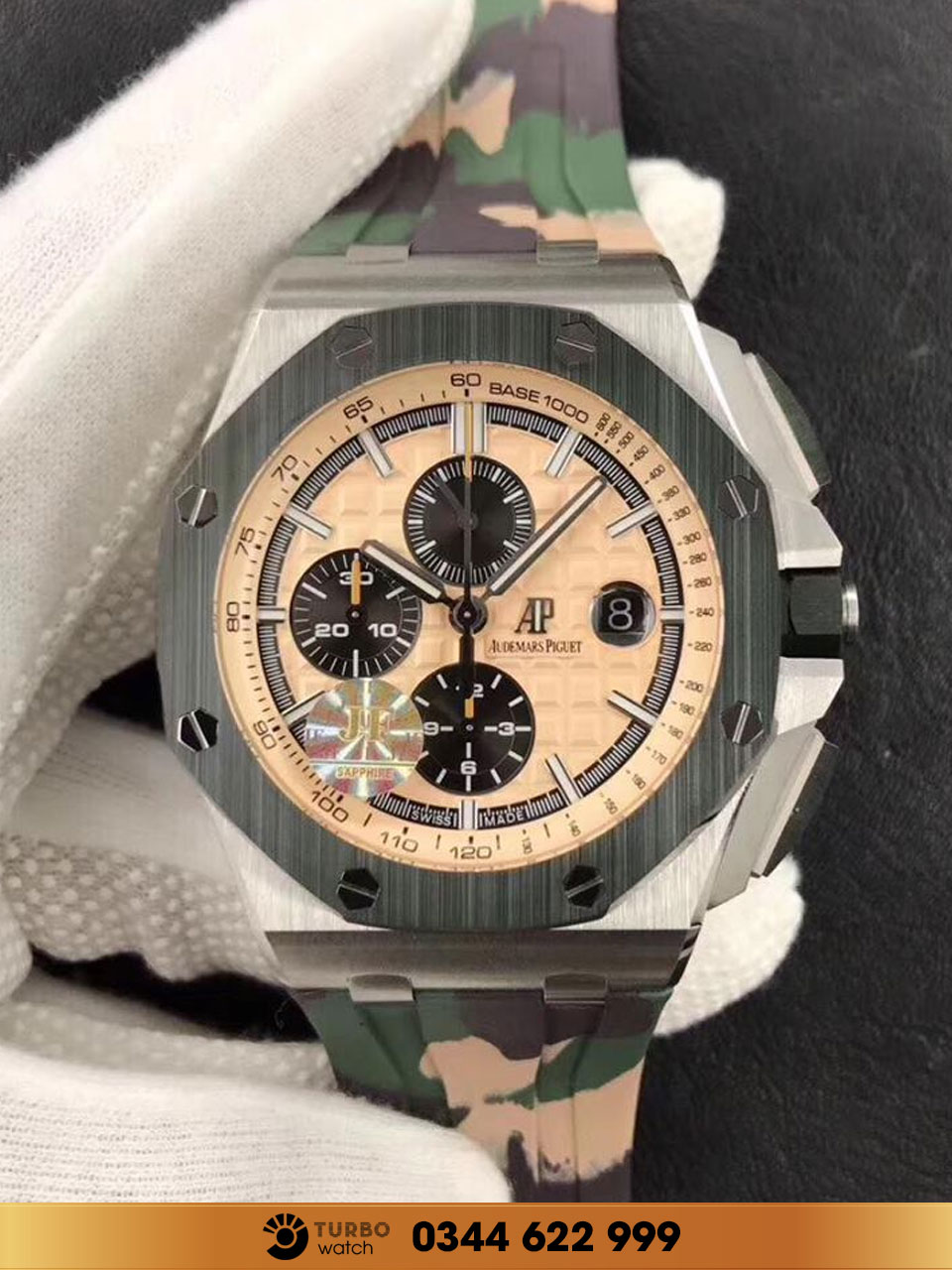 Audemas piguet Royal Oak Offshore Chronograph Camouflage Unworn replica 1-1 cao cấp