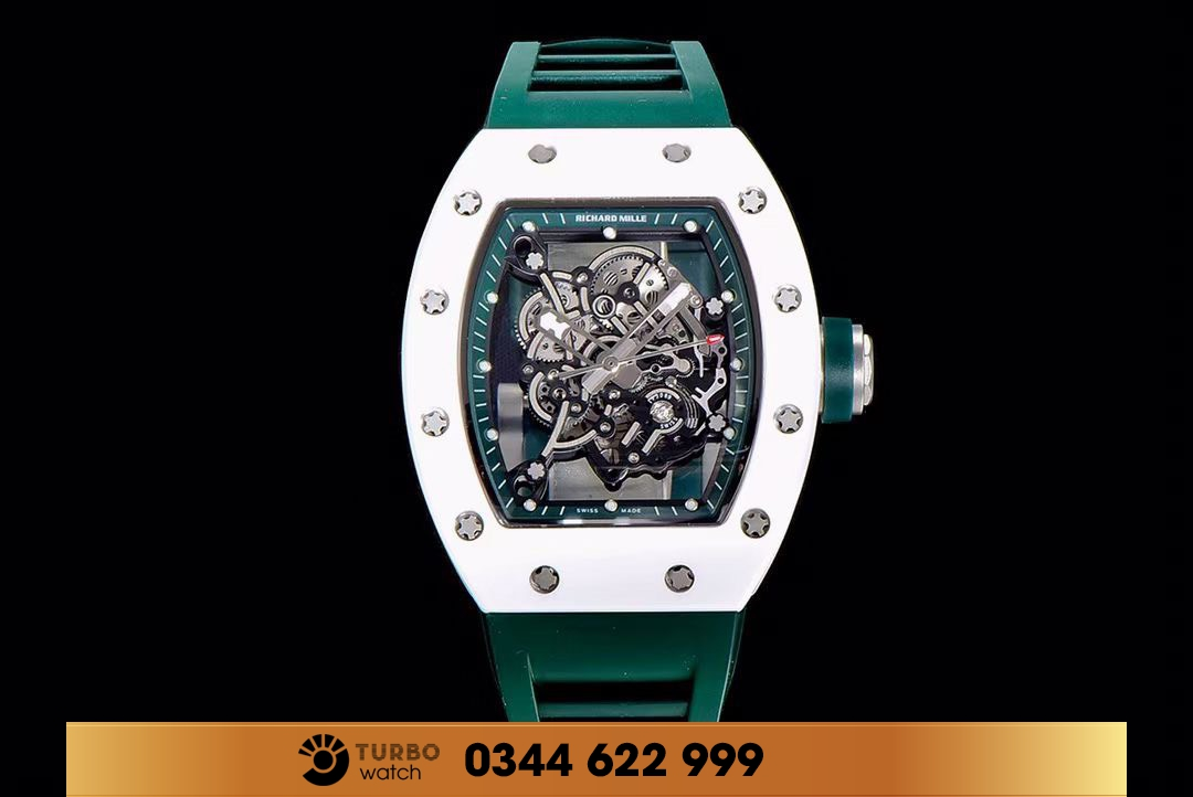 Dồng Hồ RICHARD MILLE Replica 1-1 RM 055 Green