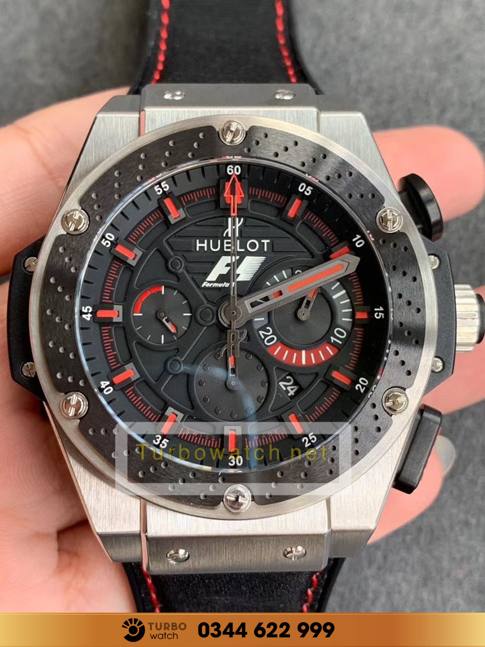 Hublot king power f1 zirconium replica 1:1 cao cấp