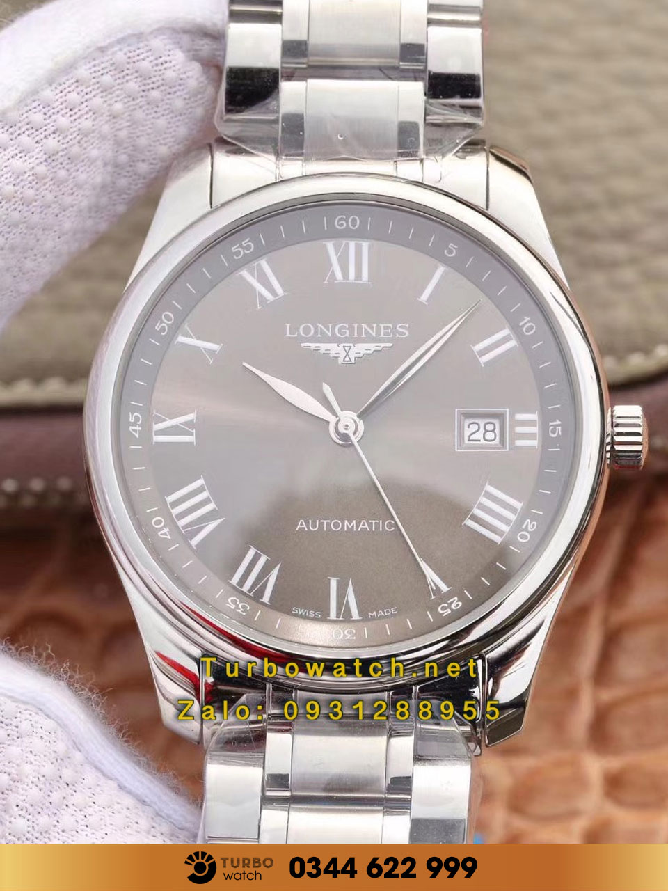 Longines Master Collection gray  fake 1-1 cao cấp