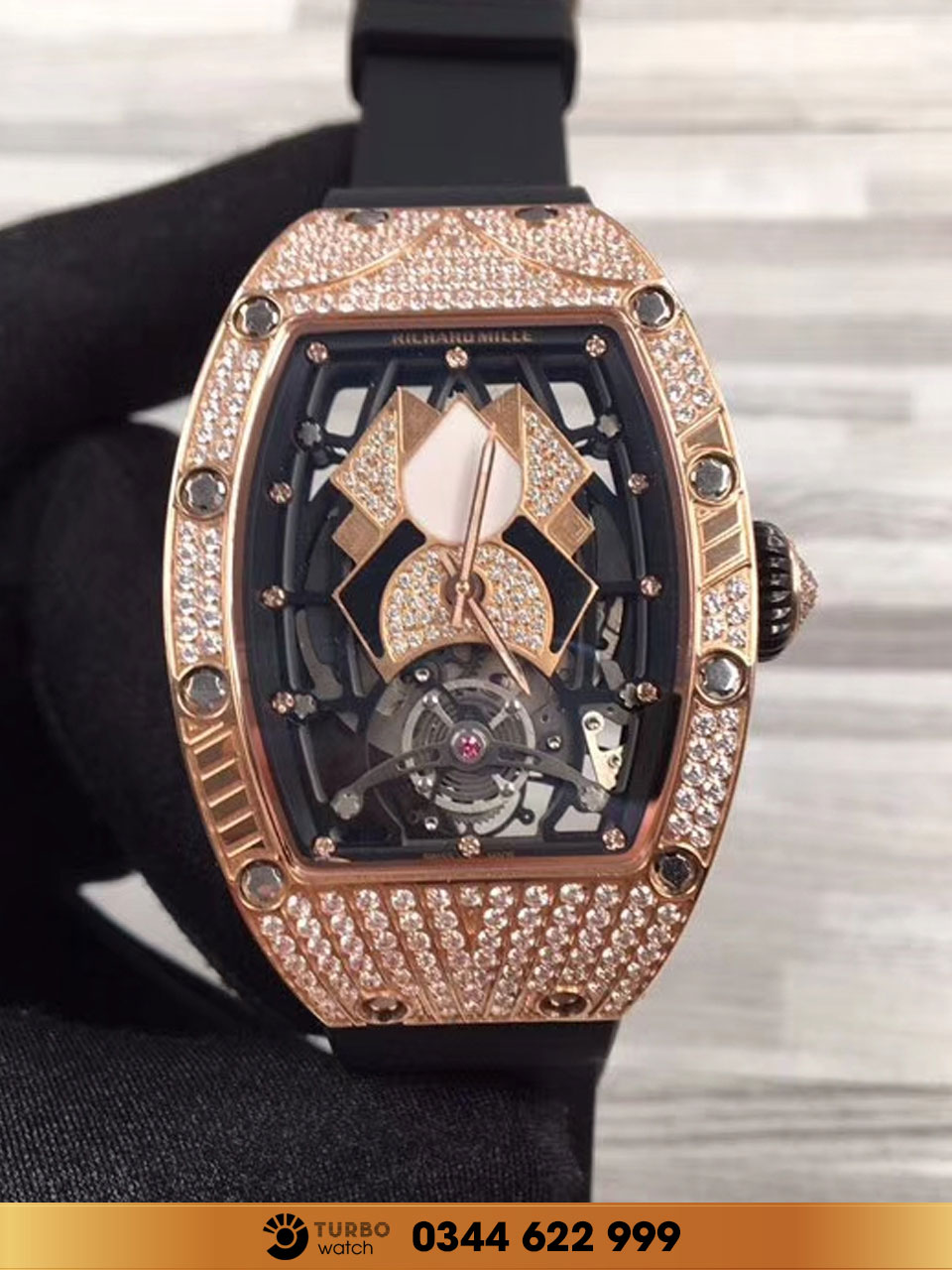 RICHARD MILLE RM 71-01 Automatic Tourbillon Talisman for Women FAKE 1-1 CAO CẤP