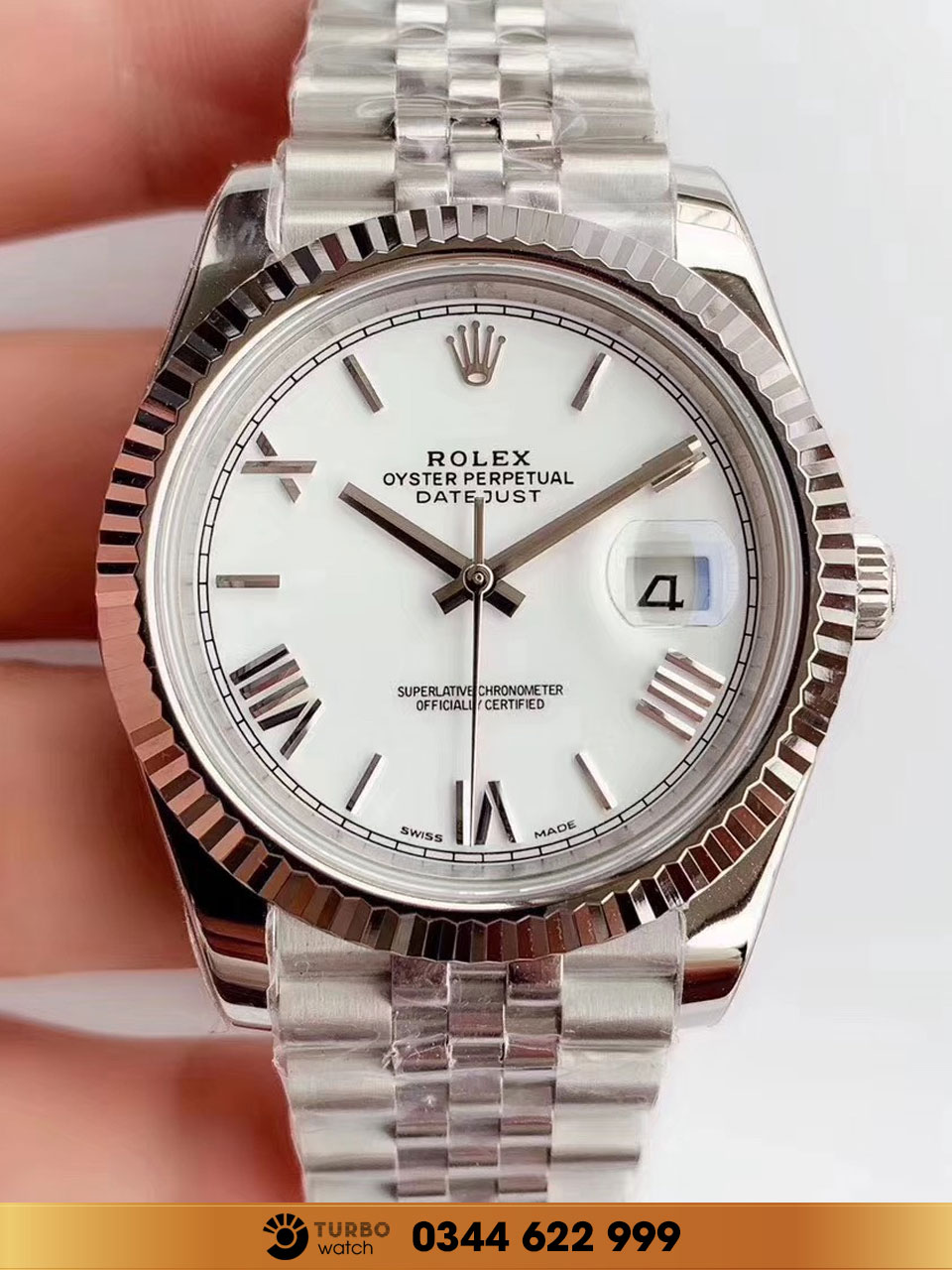 Rolex Datejust 41 126334 fake 1-1 cao cấp