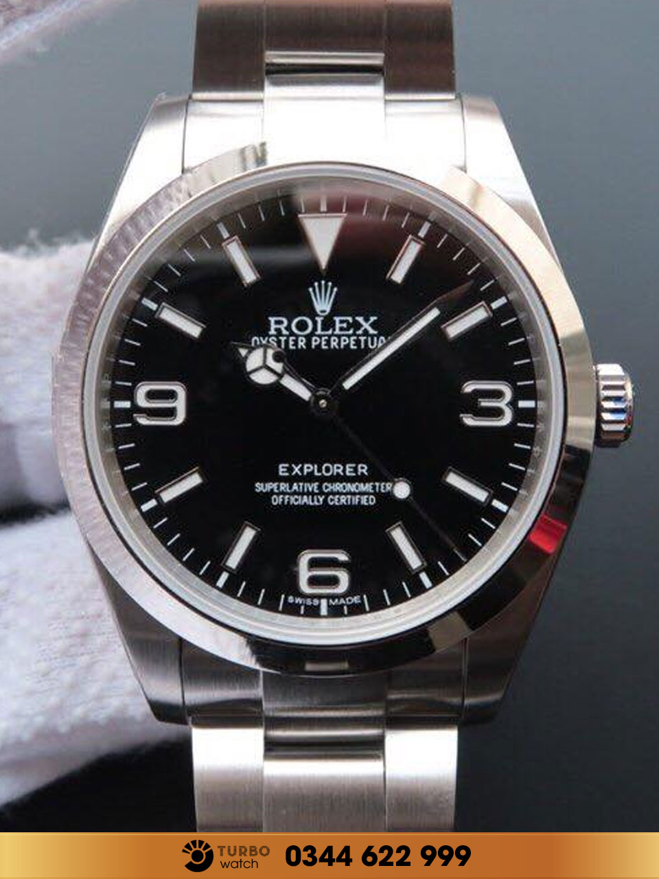 Replica Rolex EXPLORER 214270 WATCH 39 Replica 1:1 cao cấp