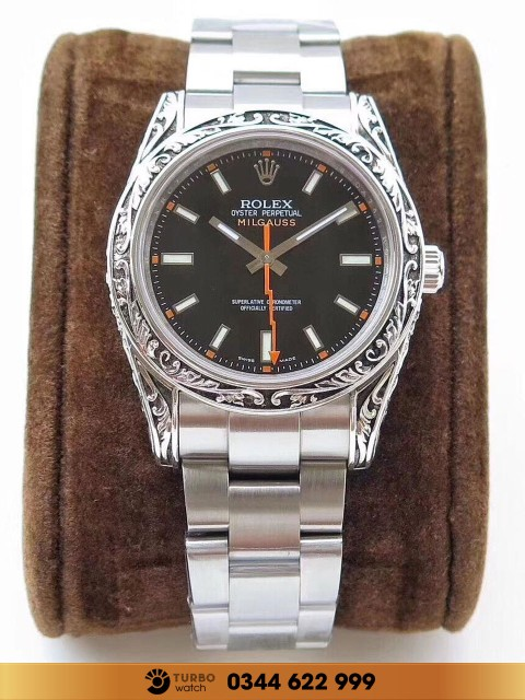 đồng hồ Rolex fake 1-1 Oyster Perpetual Milgauss